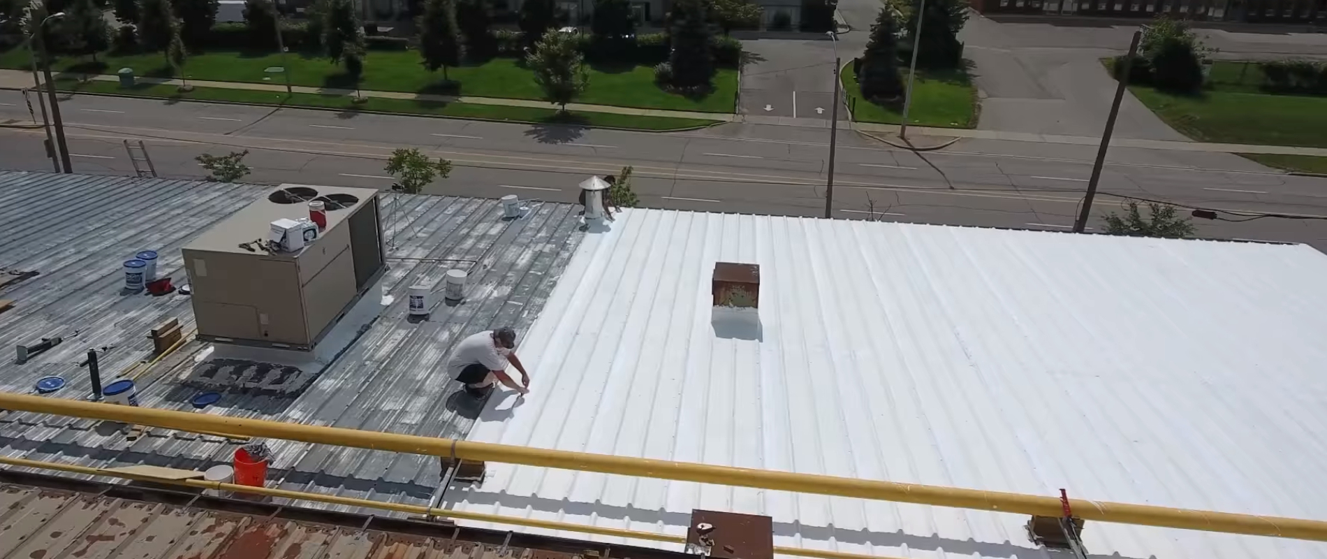 RK General Contracting Silicone Roofing
