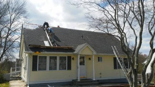 New Roof in Greenburg, in Westchester County, NY
