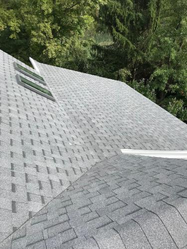 Pewter Asphalt Roof