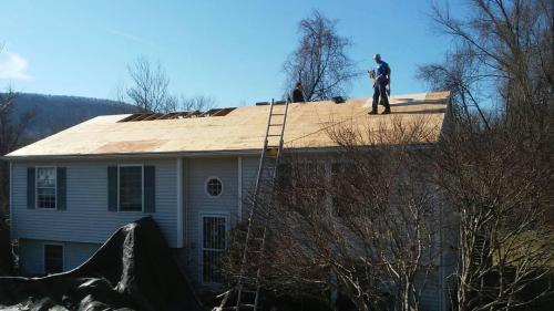 Repairing Roof Structure