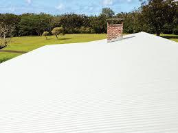 Silicone on metal roof