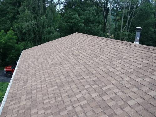 Weathered Wood Asphalt Roof
